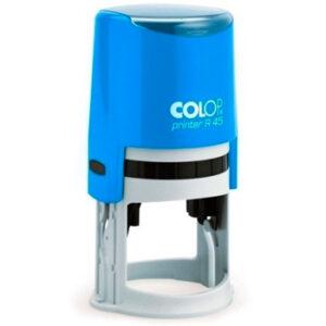 Оснатка colop printer r45 голубого цвета