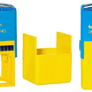 Оснастка trodat printy 4940 жовто-синя